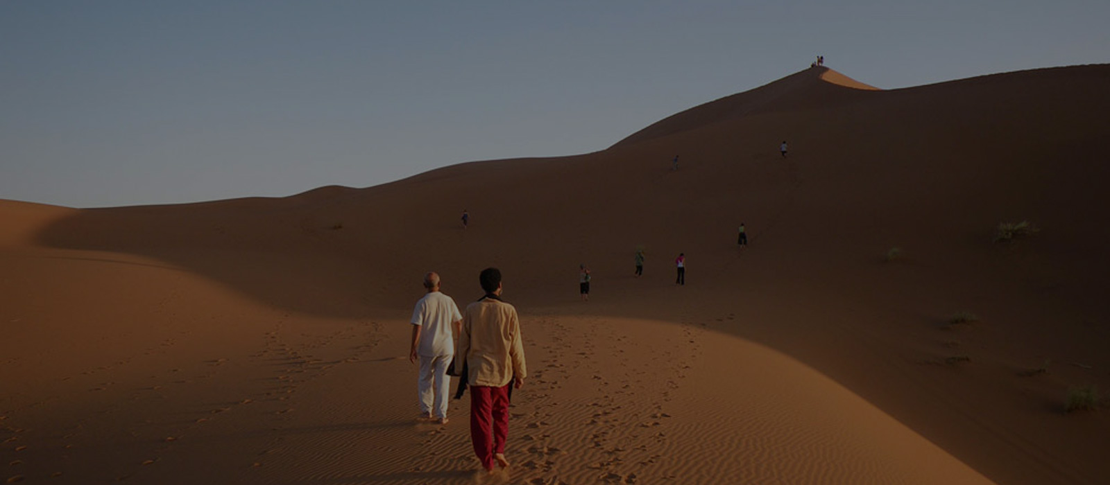 Yoga dans le désert